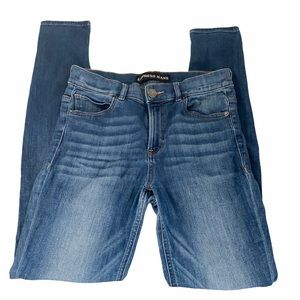 Express High Rise Skinny Denim Legging Jeans